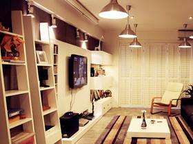 现代简约二居室装潢案例