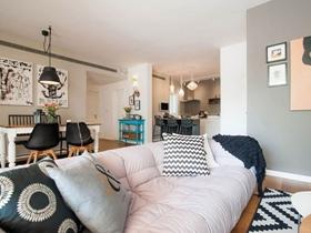 时尚现代风格四居室装修设计效果图