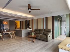 简约风格木质二居装修设计
