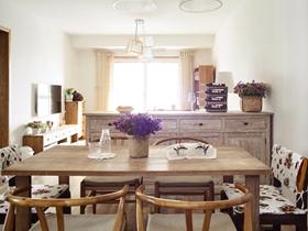现代简约二居室装修设计效果图