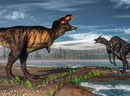 身形矫健的恐龙动物图片