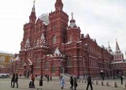 俄罗斯莫斯科红场建筑风景图片_9张