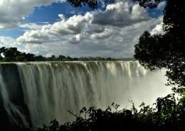津巴布韦维多利亚瀑布风景图片_10张