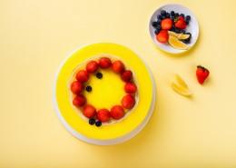奶油草莓水果蛋糕图片_16张