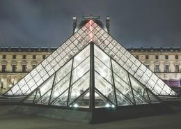 巴黎罗浮宫图片_12张