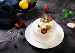 美味水果奶油蛋糕图片_10张