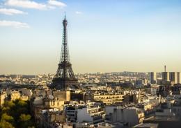 法国巴黎埃菲尔铁塔图片_13张