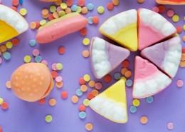 五彩的甜品图片_12张