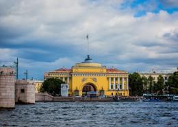 俄罗斯圣彼得堡建筑风景图片_10张