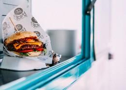 营养平衡的汉堡图片_11张