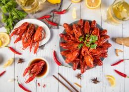 夏季美食小龙虾图片_26张