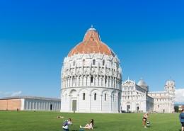 意大利比萨斜塔风景图片_10张