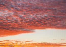 傍晚的彩云图片_11张