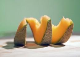 脆甜好吃的哈密瓜图片_12张