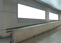 机场空白广告牌海报图片_16张