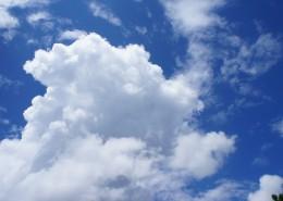 蓝天白云自然风景图片_10张