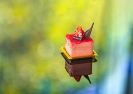 美味好吃的草莓蛋糕图片_8张
