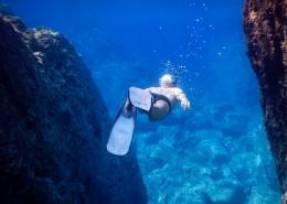 海底潜水人物图片_11张