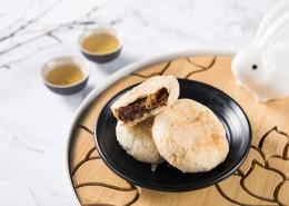 美味好吃的中秋节苏式月饼图片_9张