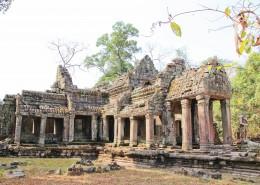 柬埔寨吴哥窟建筑风景图片_11张