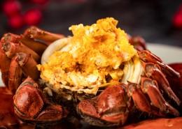 美味又蟹黄的大闸蟹图片_8张
