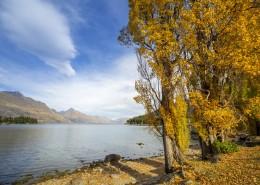 新西兰皇后镇秋季风景图片_10张