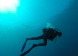 海底潜水人物图片_12张