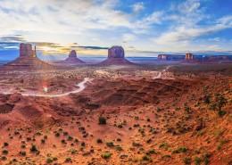 美国纪念碑山谷自然风景图片_9张