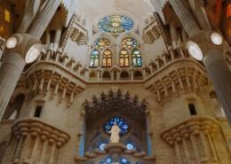 西班牙巴塞罗那的教堂图片_10张