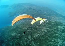 惊险刺激的滑翔伞运动图片_13张