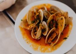 丰盛的海鲜大餐图片_12张