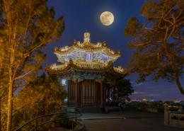 唯美的北京中秋节风景图片_8张