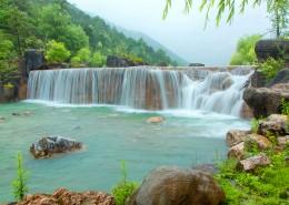 云南丽江玉龙雪山蓝月谷自然风景图片_11张