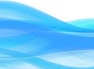 蓝色清新梦幻简历图片背景