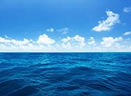 qq空间有海水ppt背景图片
