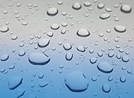 玻璃上的水滴背景图片素材