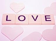浪漫粉色心形唯美电脑桌面壁纸高清