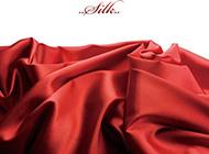 美丽的绸缎布纹图片素材