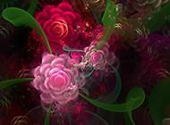 高清梦幻3D靓丽花朵唯美桌面壁纸