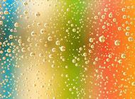 彩色水珠背景免费素材下载