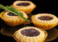 美味可口的紫薯蛋挞图片