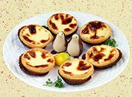 奶香浓郁的澳门葡式蛋挞图片
