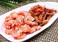 经典粤菜双味白灼虾图片