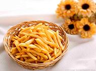 油炸薯条图片咸香可口