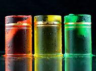 彩虹鸡尾酒图片色彩缤纷