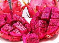鲜嫩可口的火龙果图片欣赏