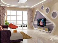 温馨浪漫的地中海风格电视背景墙装修图片