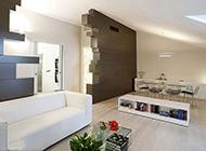 意大利现代时尚复式公寓装修效果图