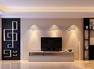 时尚欧式简约客厅背景墙大气奢华