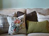 沙发创意相片墙装饰效果图